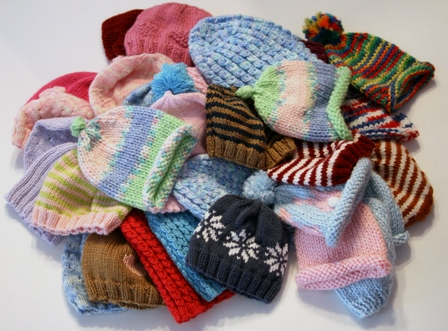 Knitting Patterns For Charity Knitters : Charity Knitting - v e r y p i n k . c o m - knitting patterns and video tuto...