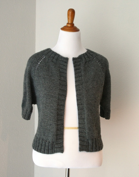 Knitting Pattern Numbers In Brackets : Cropped Raglan Cardi Tutorial - v e r y p i n k . c o m - knitting patterns a...