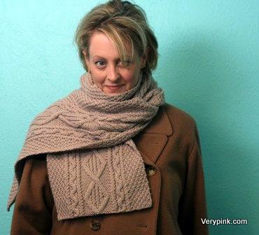Learn To Knit An Aran Shawl V E R Y P I N K C O M Knitting
