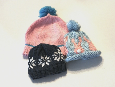 Knitting Pattern Rabbit Hat : Charity knitting v e r y p i n k c o m patterns and