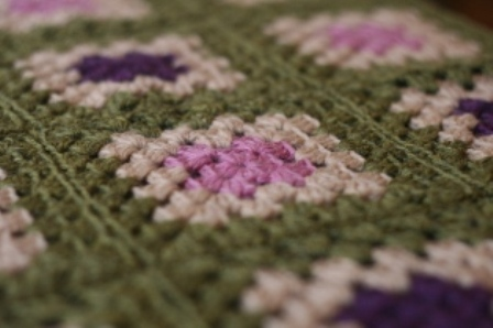 Crochet For Knitters Granny Square Blanket V E R Y P I N K