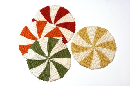 4827985668068 Shaker Dishcloths and Coasters - v e r y p i n k . c o m - knitting ...