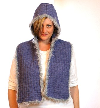 Mimi Hooded Scarf V E R Y P I N K C O M Knitting Patterns And