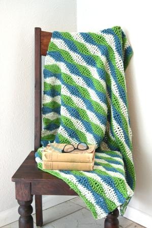 Crochet For Knitters Wavy Blanket V E R Y P I N K C O M