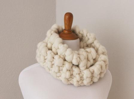 Super Chunky Cowl Tutorial V E R Y P I N K C O M Knitting