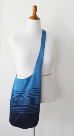 ATX Linen Tote - v e r y p i n k   c o m - knitting patterns