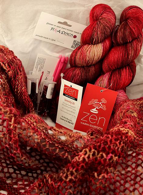 zen yarn garden shawl kits - Zen Yarn Garden