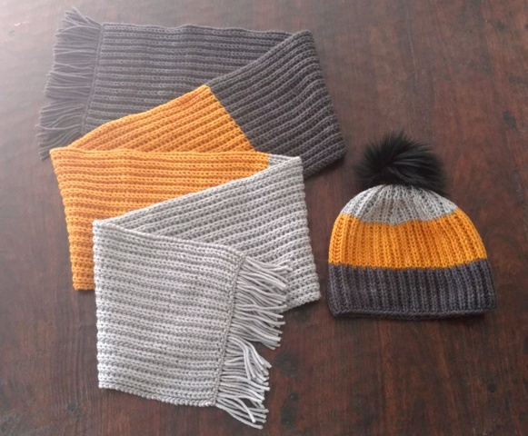 46df3d1a9 Fisherman s Rib Hat and Scarf Set - v e r y p i n k . c o m ...